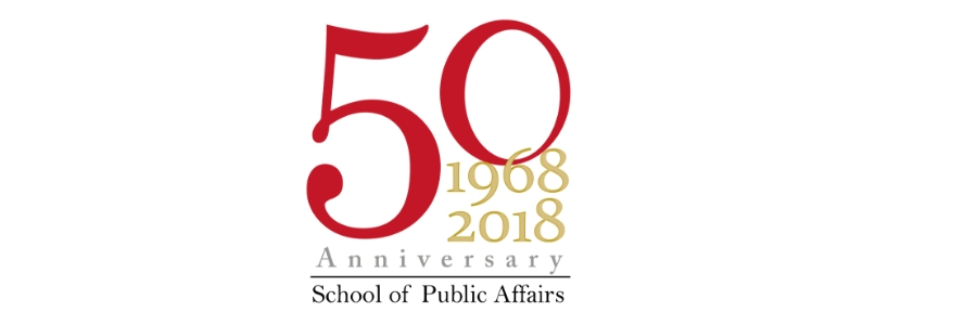 School of Public Affairs Celebrates 50 Years by Honoring 50 Alumni, Part II