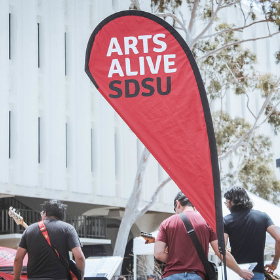 Arts Alive SDSU Wins Provost's Strategic Excellence Award