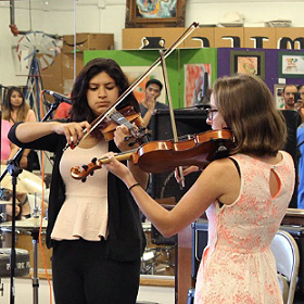 photo of Music Education Helps National City Youth