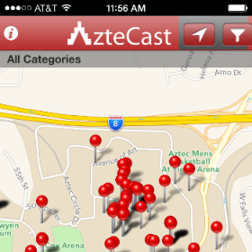 photo of Student-Designed App for SDSU Events