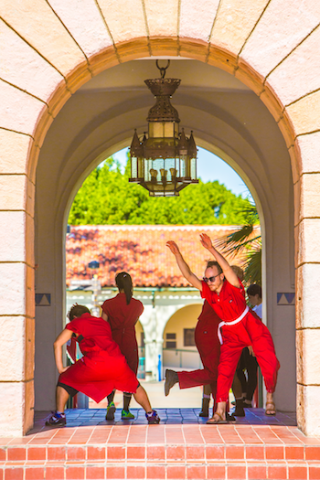 Durational Dances Turn Heads on SDSU Campus