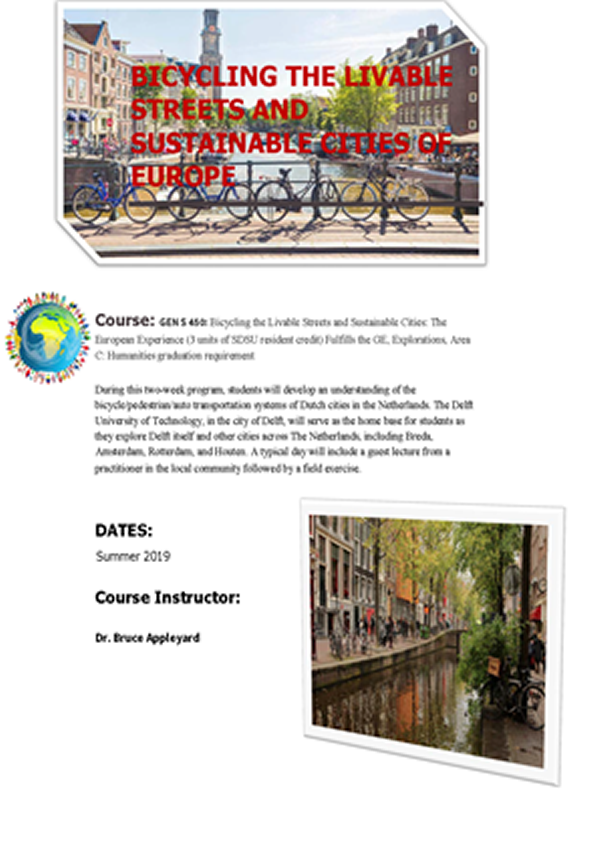 The Netherlands: Bicycling the Livable Streets and Sustainable Cities