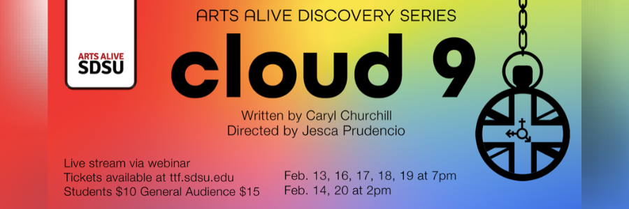 """SDSU Theatre's """"Cloud 9"""" Asks, Are We """"Suppressing Our True Identities?"""""""