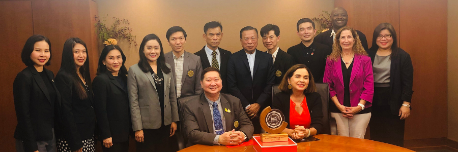 Distinguished Guests from Thailand Visit SDSU