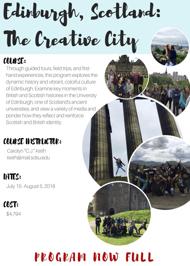 Edinburgh, Scotland: The Creative City
