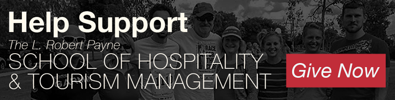 Help support L. Robert Payne School of Hospitality & Tourism Management