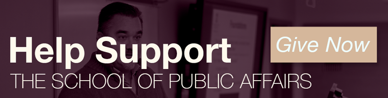 Help support School of Public Affairs