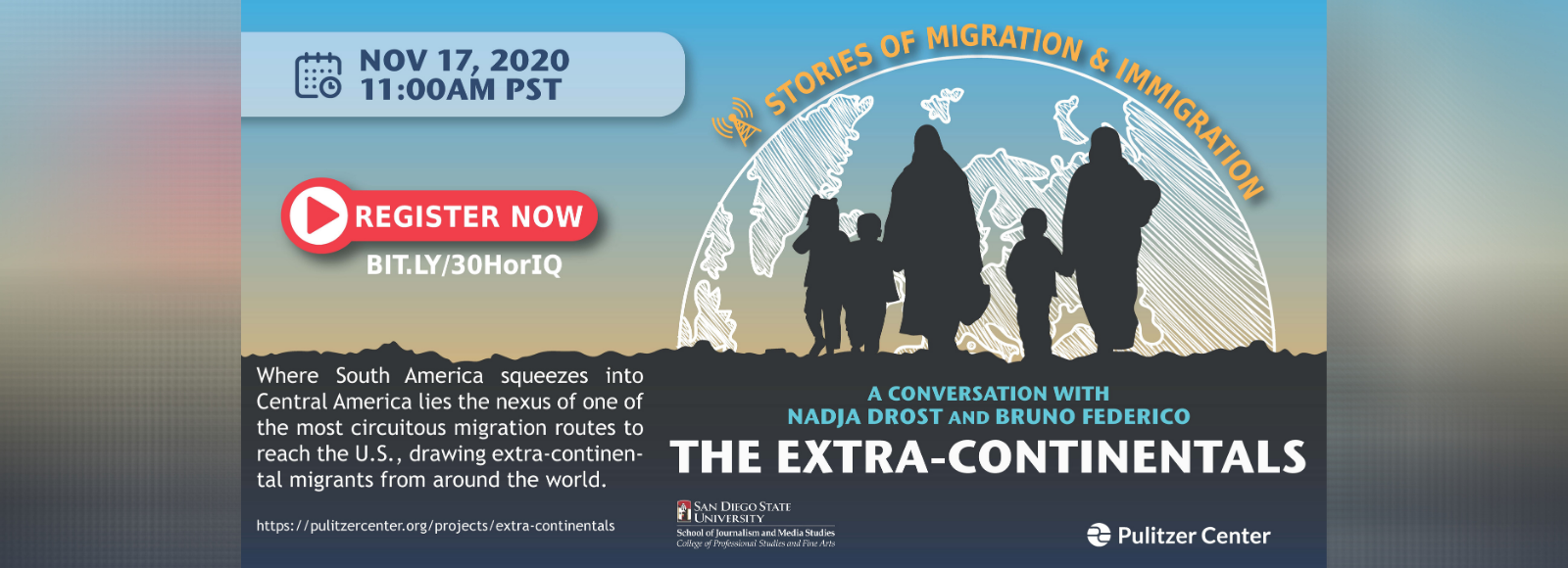 JMS Partners with Pulitzer Center to Launch Webinar Series