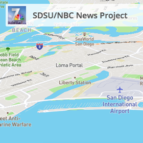 SDSU School of JMS collaborates with local NBC station using locative technologies