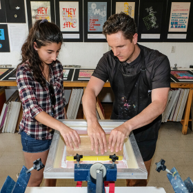 School of Art + Design to Showcase Facilities and Student Work at Annual Open House