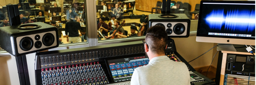 The School of Music and Dance has a New Recording Studio