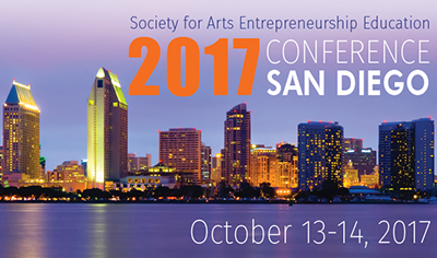 Society For Arts Entrepreneurship Education National Conference Logo