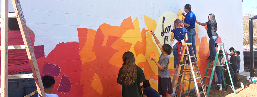 Student and Faculty Art Transforms Communities and Public Space