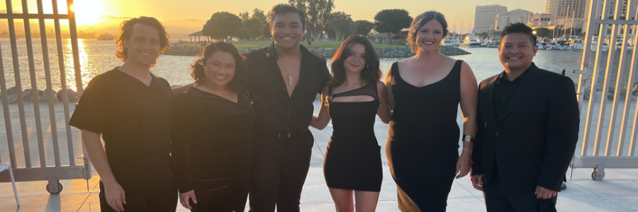 MFA Musical Theatre Students Perform at the Rady Shell