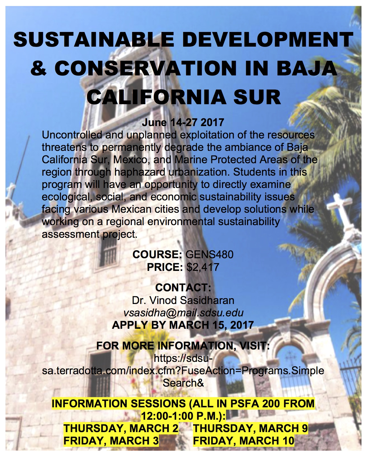 Sustainable Development and Conservation in Loreto, Mexico