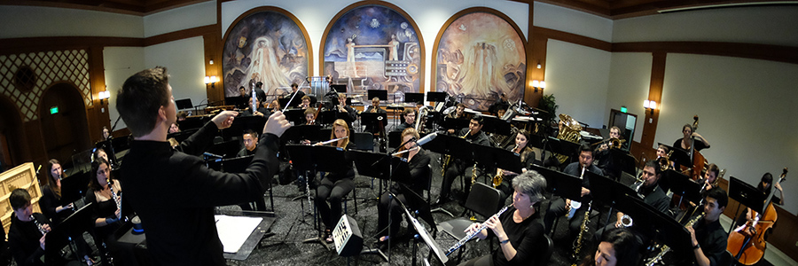 SDSU Wind Symphony Exemplifies Quality at SCSBOA Conference