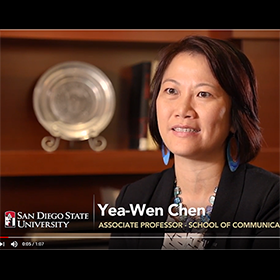 Yea-Wen Chen's Intercultural Communication Research