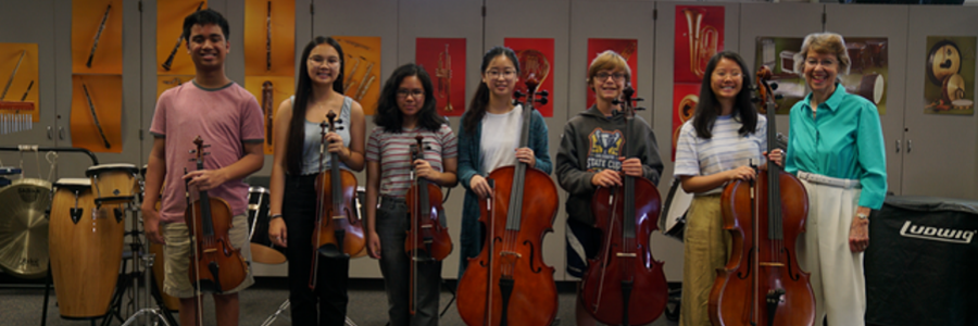Ann Marie Haney Endowment Provides San Diego Schools with Music Instruments