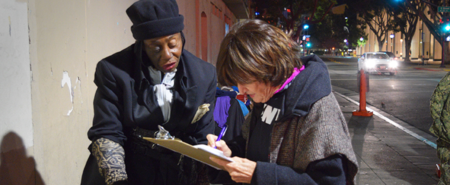 Faculty and Students Examine San Diego Homeless Problem