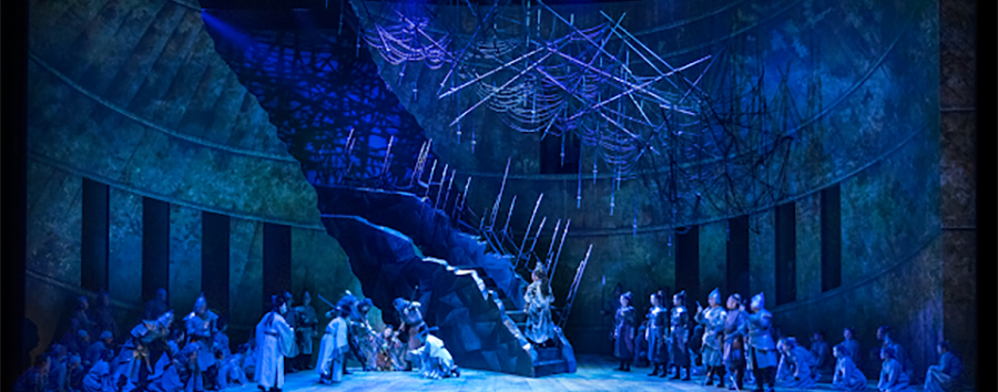 Prof. Murdock Lucas Completes 100th Show with Turandot in Korea