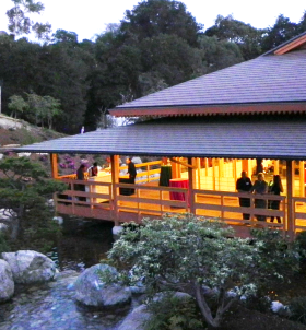 photo of Japanese Friendship Garden Pavilion Building Unveiled